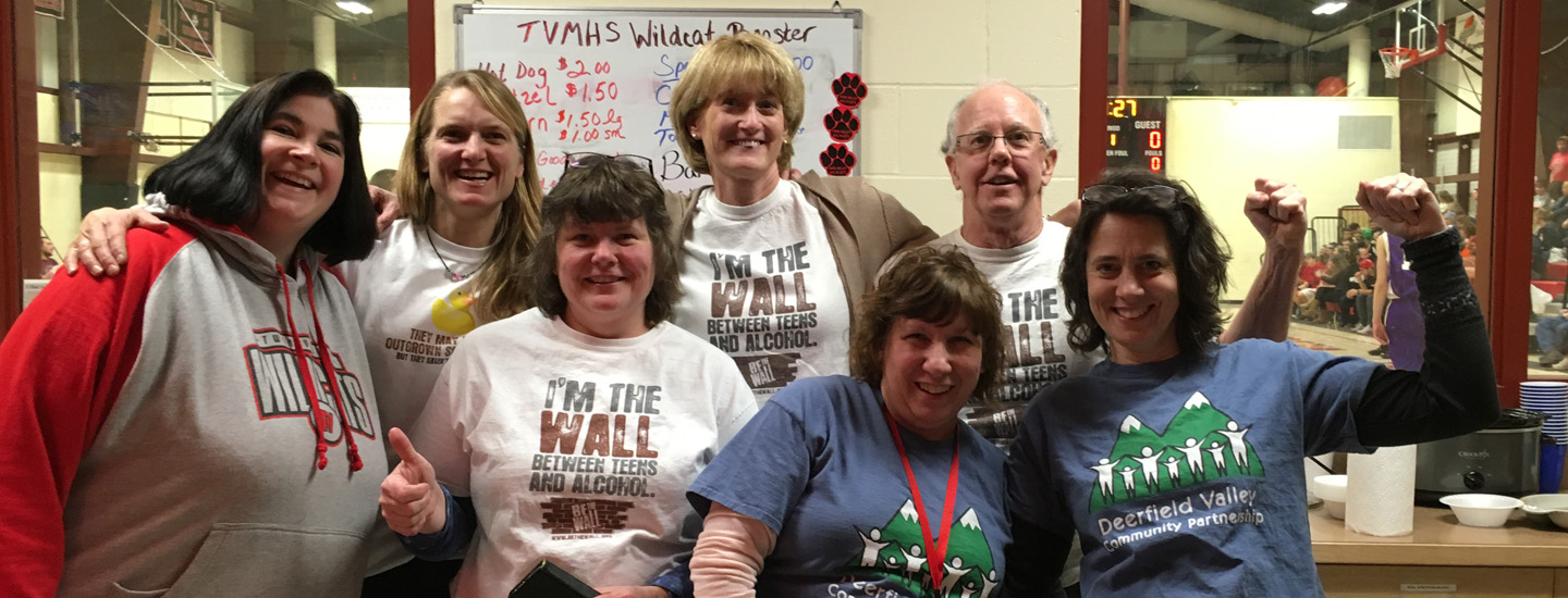 "DVCP Members: "" I'm the Wall between Teens and Alcohol-BE THE WALL!"